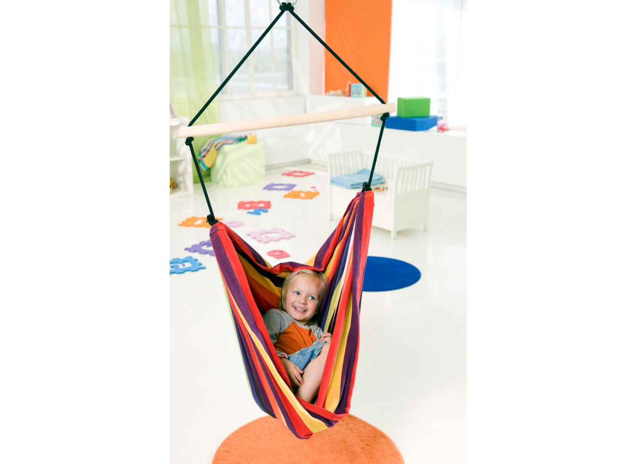 Kinderhangstoel Relax Rainbow