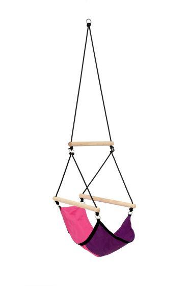 Kinderhangstoel Swinger Pink
