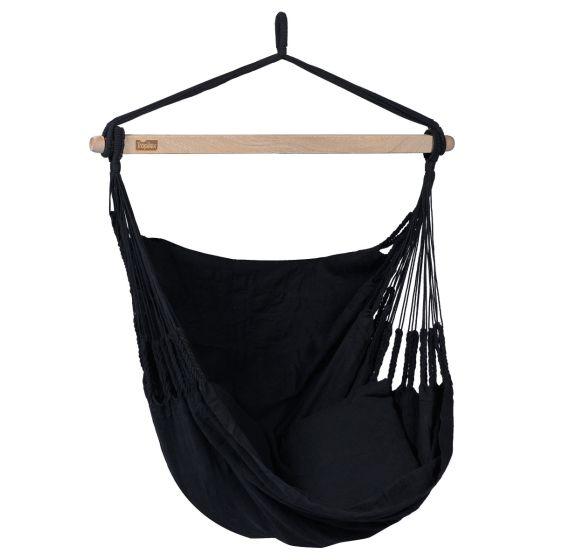 Hangstoel 1 Persoons Comfort Black