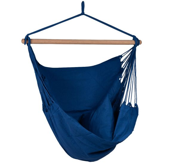 Hangstoel 1 Persoons Organic Blue