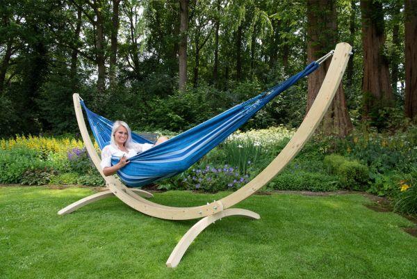 Hangmat met Staander 2 Persoons Wood & Chill Calm