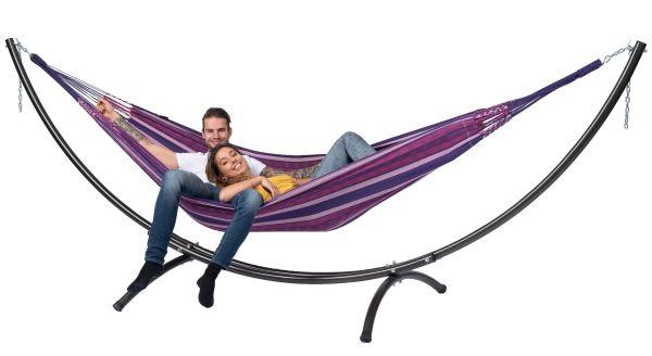 Hangmat met Staander 2 Persoons Arc & Chill Love