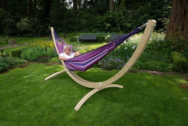 Hangmat met Staander 2 Persoons Wood & Chill Love