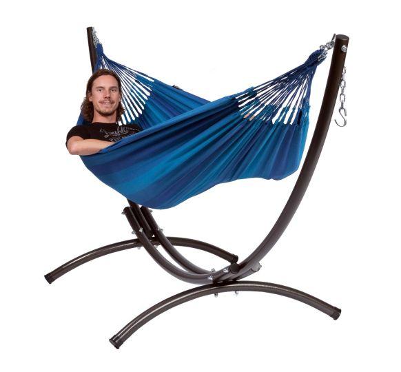 Hangmat met Staander 1 Persoons Arc & Dream Blue