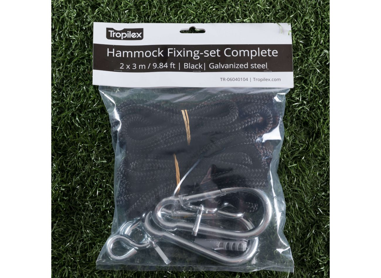 Ophangset Hangmat Complete Black