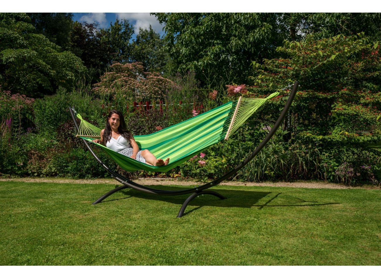 Hangmat 1 Persoons Relax Green